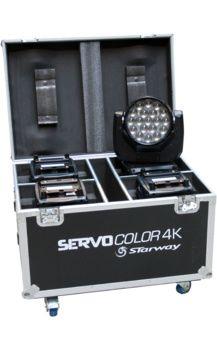 Servo Color 4K en Flight-Case