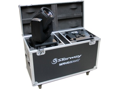 SERVO BEAM 5R en Flight-Case
