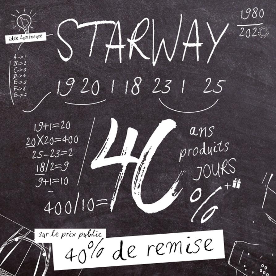 Starway 40 ans